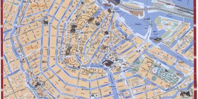 Amsterdamin Kartta Kartat Amsterdam Alankomaat